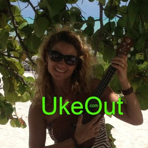 Jamie Sorbelli  UkeOut on Smather's Beach Key West