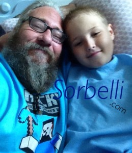 "Cancer Butt KIcker Nicholas ""Nicky"" Wayne Sorbelli & his Father."