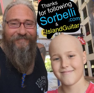 Wayne & Nicky Sorbelli thank family & friends for supporting Sorbelli.com & IslandGuitar.com